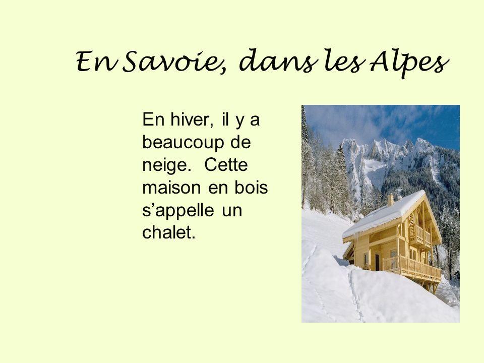 En Savoie, dans les Alpes