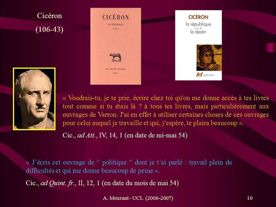 Cicéron (106-43)