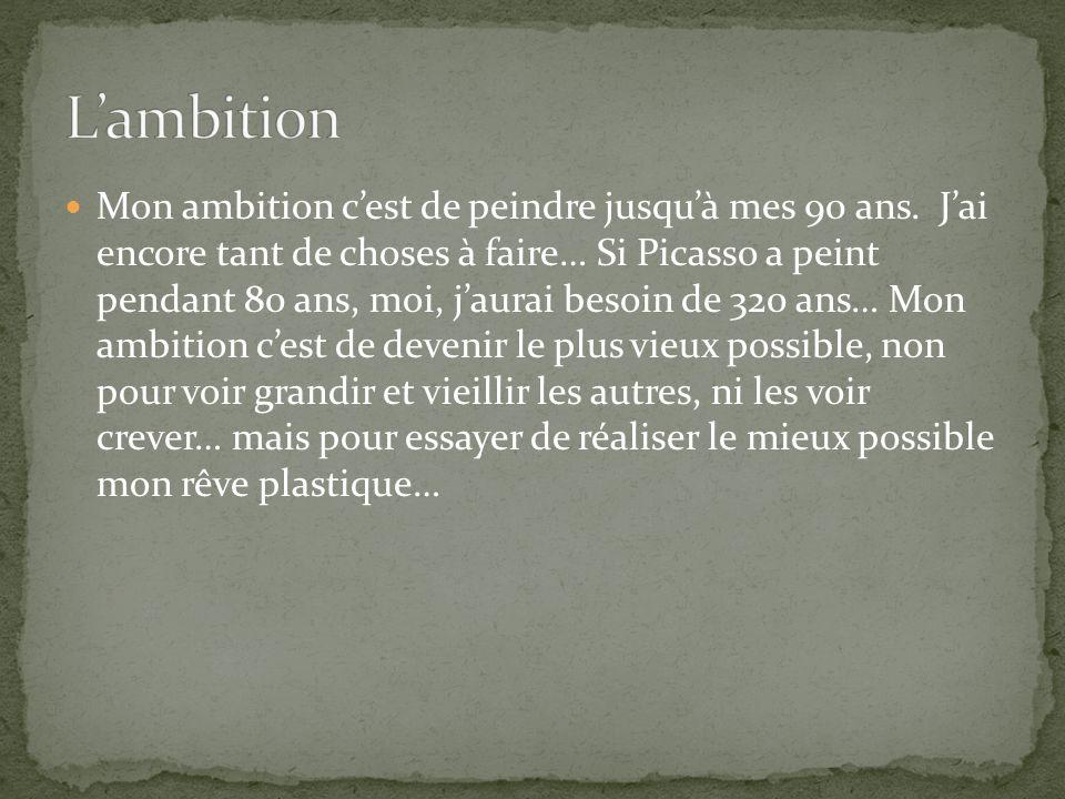 L'ambition