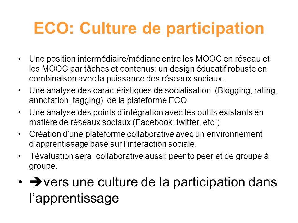 ECO: Culture de participation