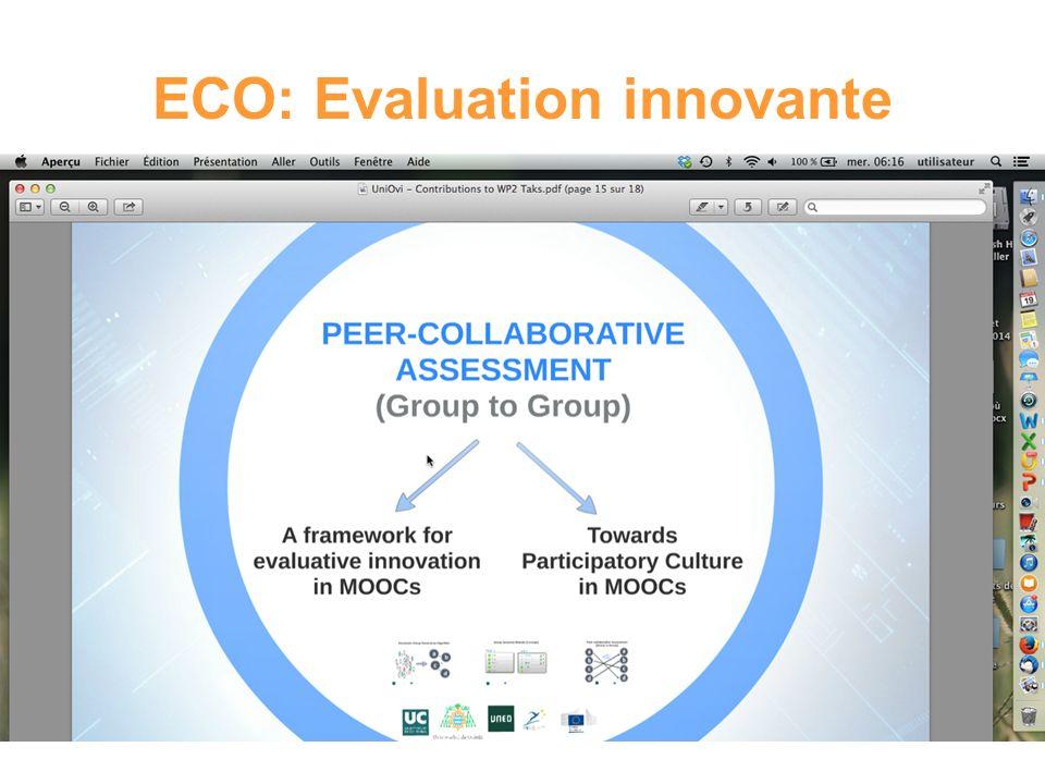 ECO: Evaluation innovante