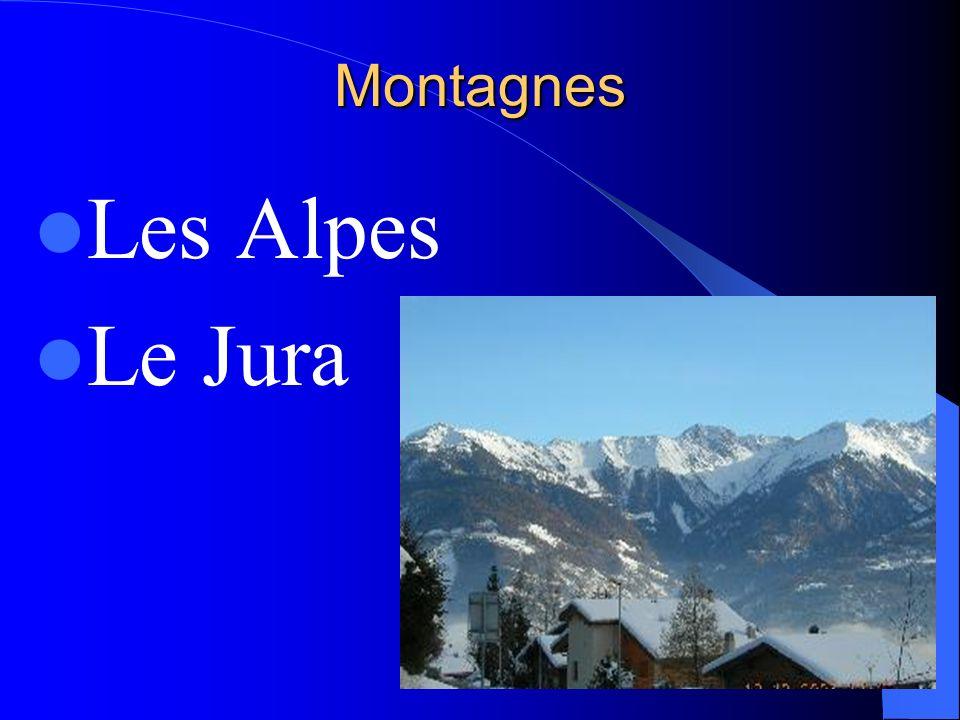 Montagnes Les Alpes Le Jura