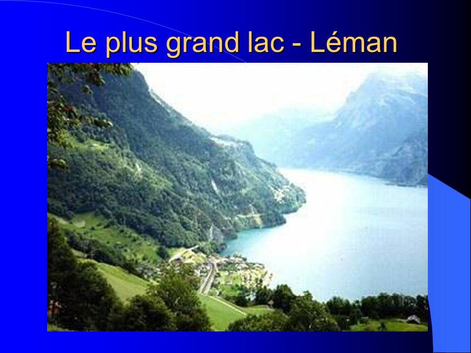 Le plus grand lac - Léman