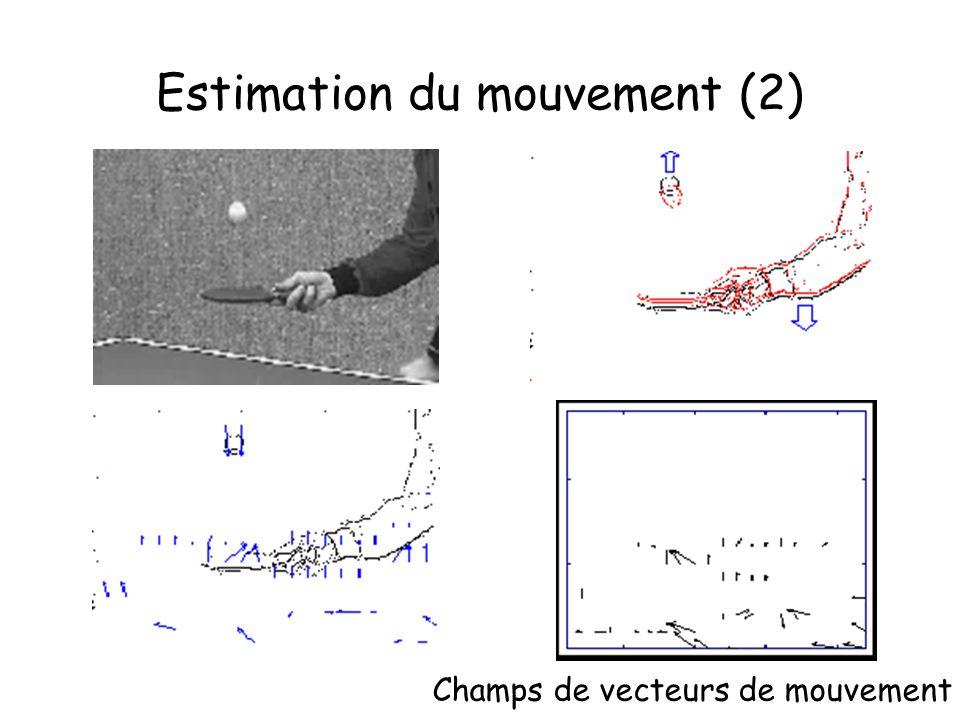 Estimation du mouvement (2)
