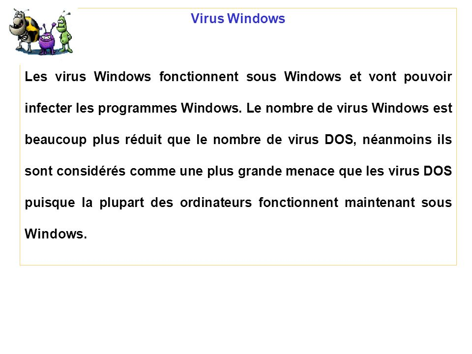 Virus Windows