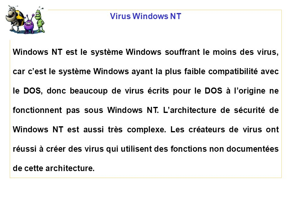 Virus Windows NT