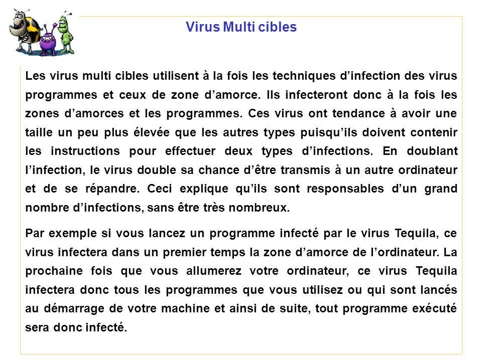 Virus Multi cibles