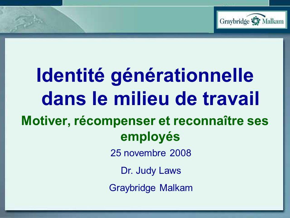 Identité générationnelle dans le milieu de travail
