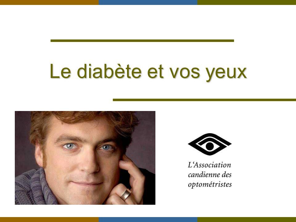 Le diabète et vos yeux