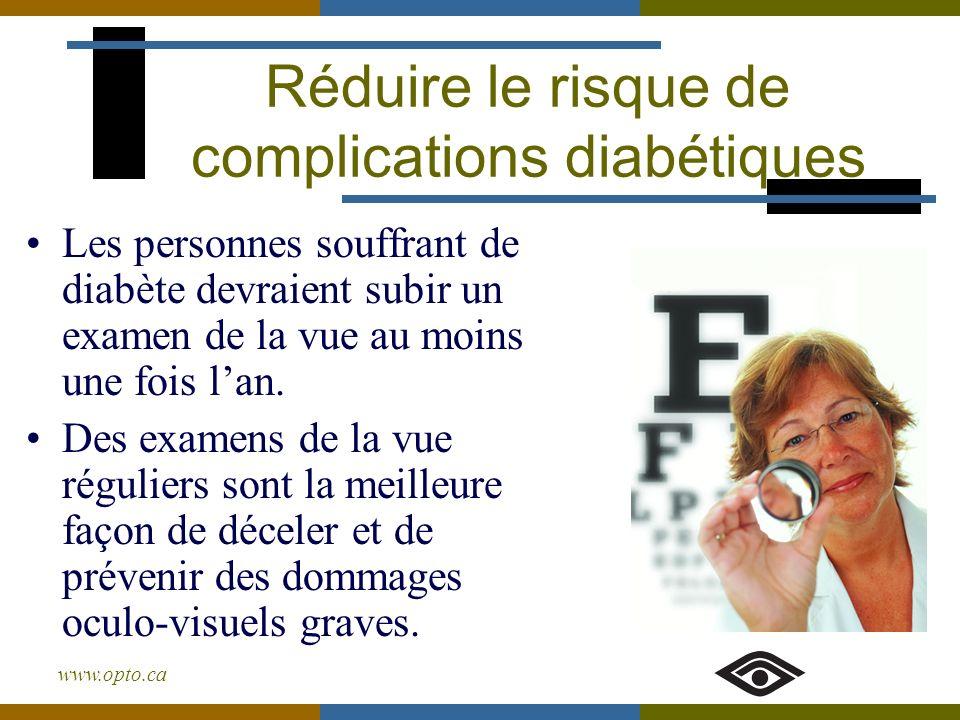 Réduire le risque de complications diabétiques