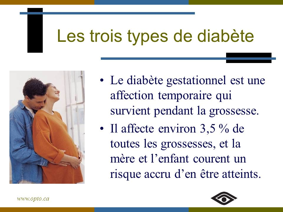 Les trois types de diabète