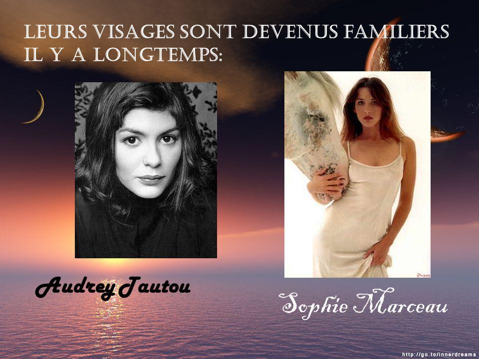 Sophie Marceau Audrey Tautou