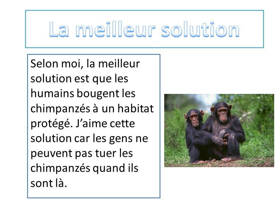 La meilleur solution
