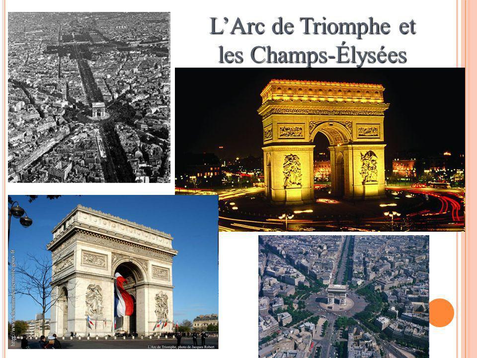 L'Arc de Triomphe et les Champs-Élysées