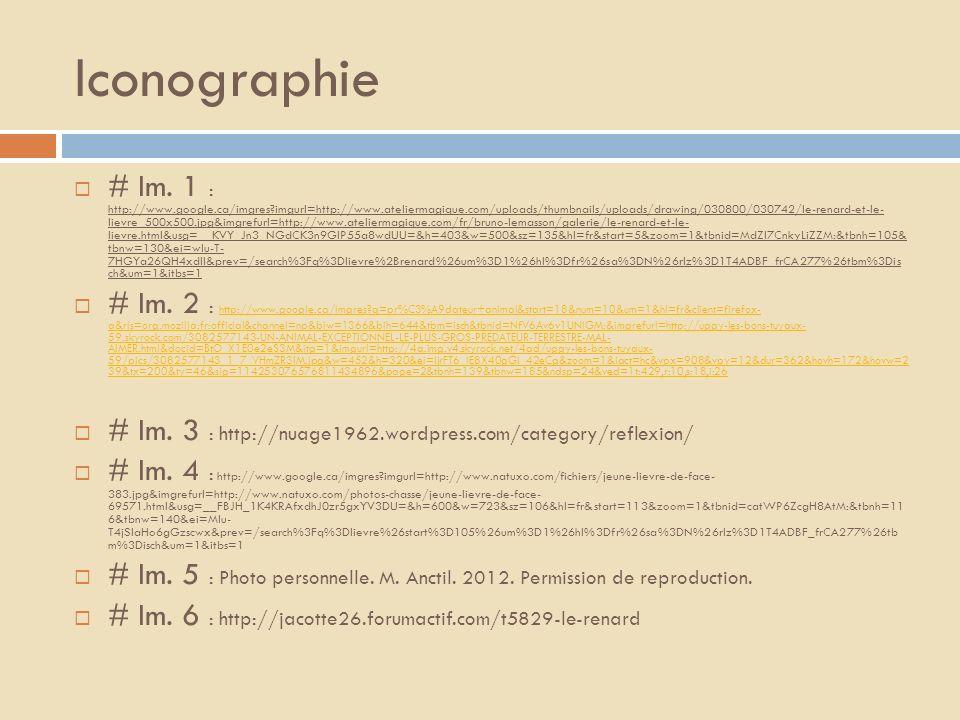 Iconographie