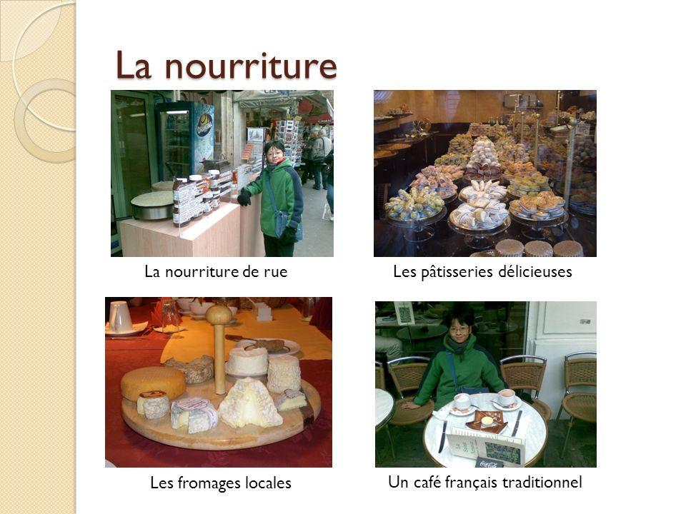 La nourriture La nourriture de rue Les pâtisseries délicieuses