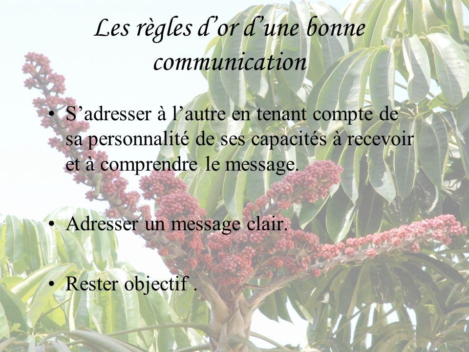 Les règles d'or d'une bonne communication
