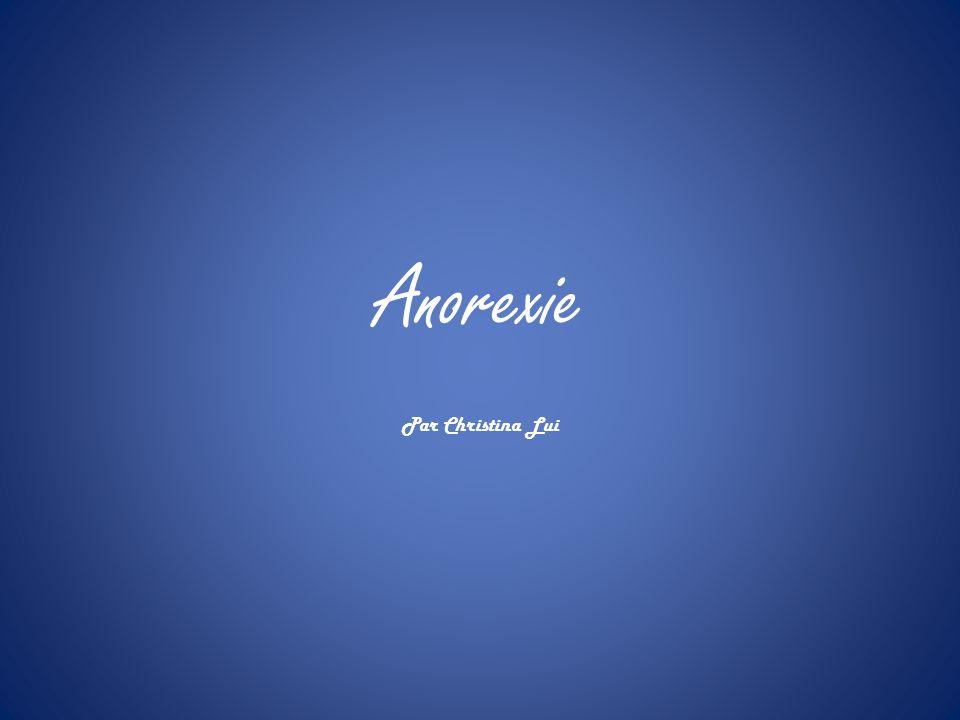 Anorexie Par Christina Lui