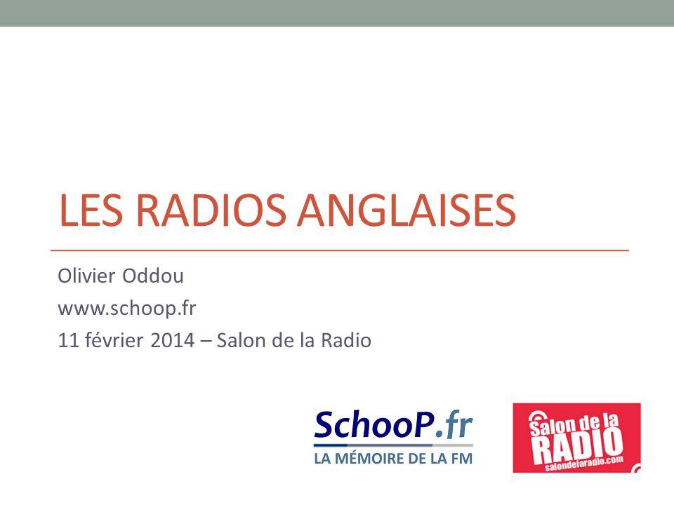 Olivier Oddou www.schoop.fr 11 février 2014 – Salon de la Radio