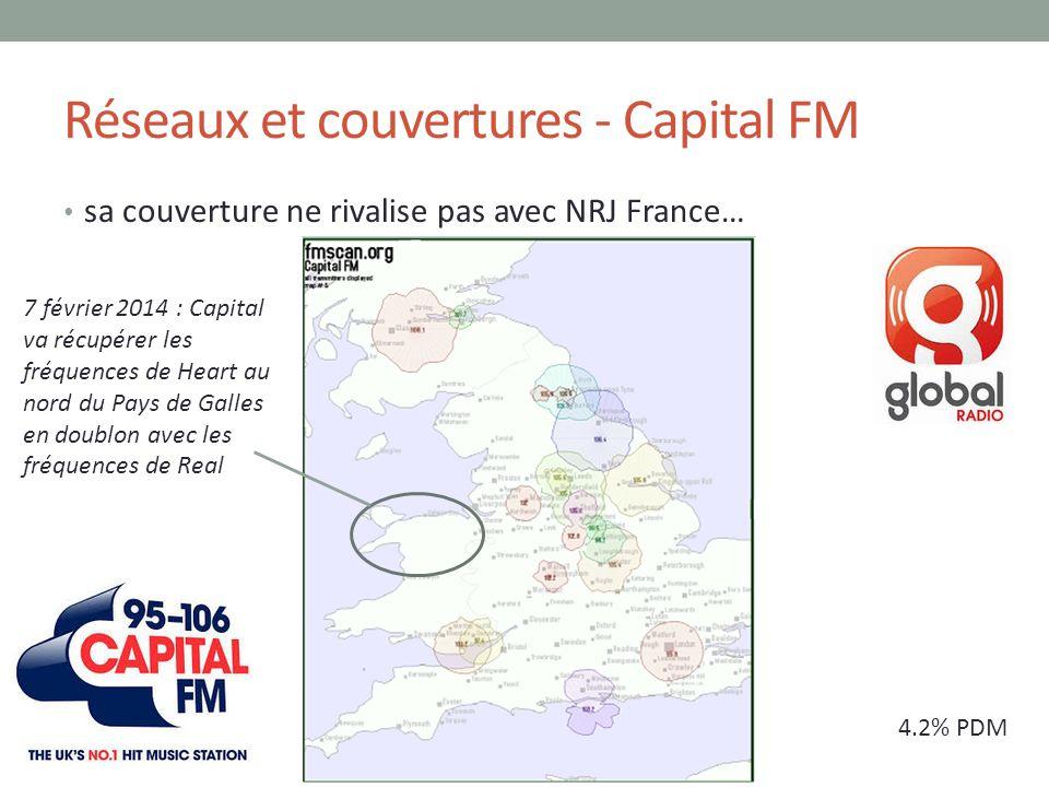 Réseaux et couvertures - Capital FM