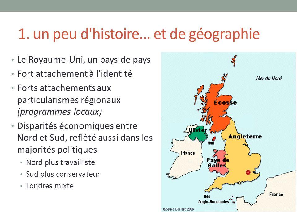 1. un peu d histoire... et de géographie