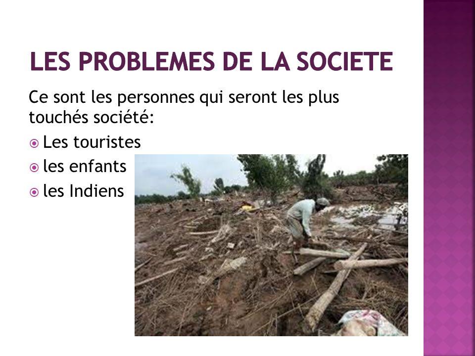 Les problemes de la societe
