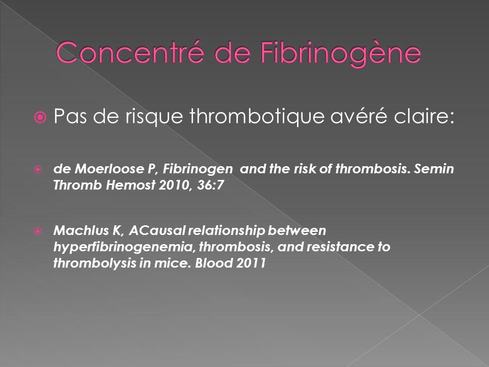 Concentré de Fibrinogène