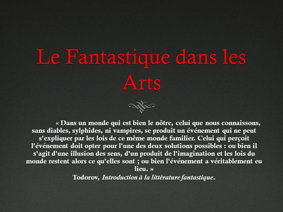 Le Fantastique dans les Arts