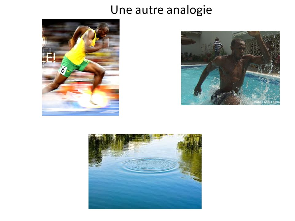Une autre analogie