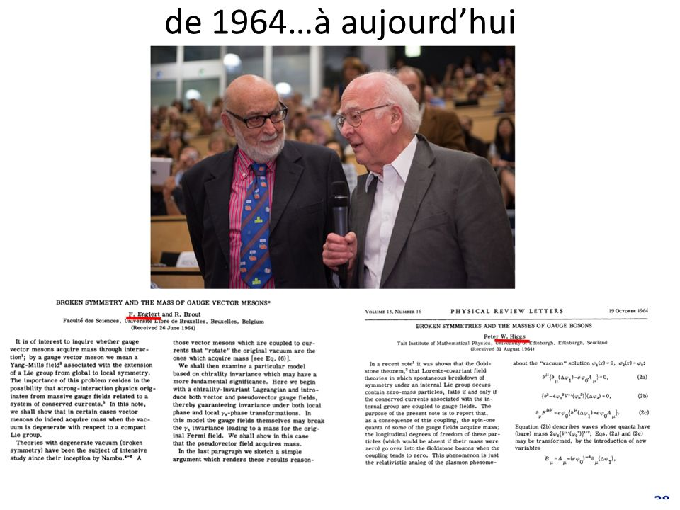 de 1964…à aujourd'hui
