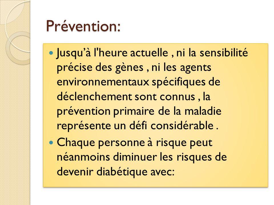 Prévention: