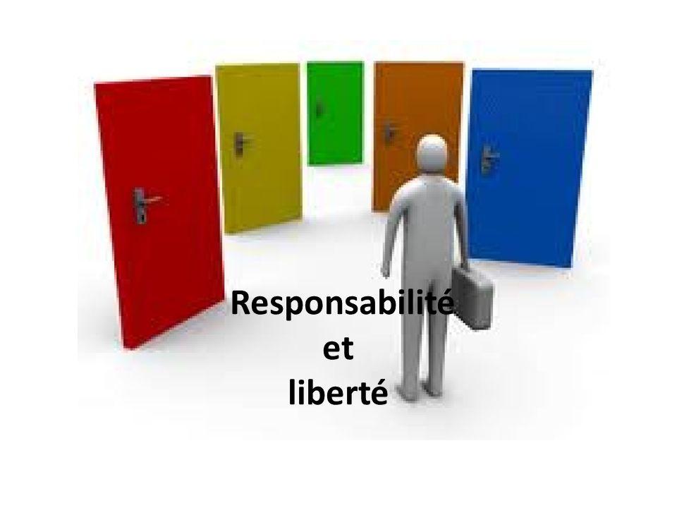 Responsabilité et liberté