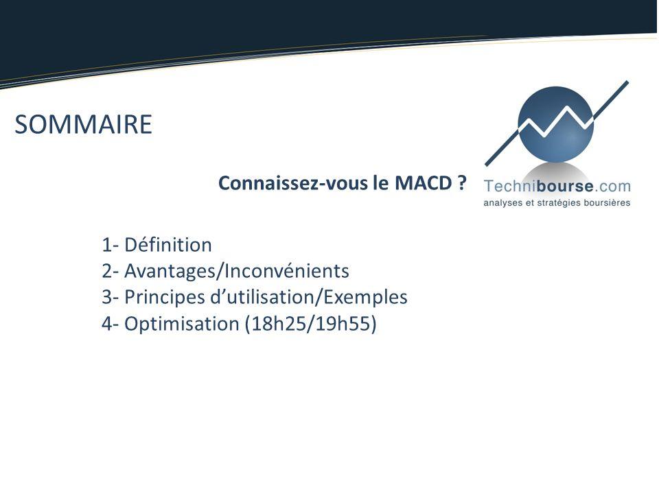 Connaissez-vous le MACD