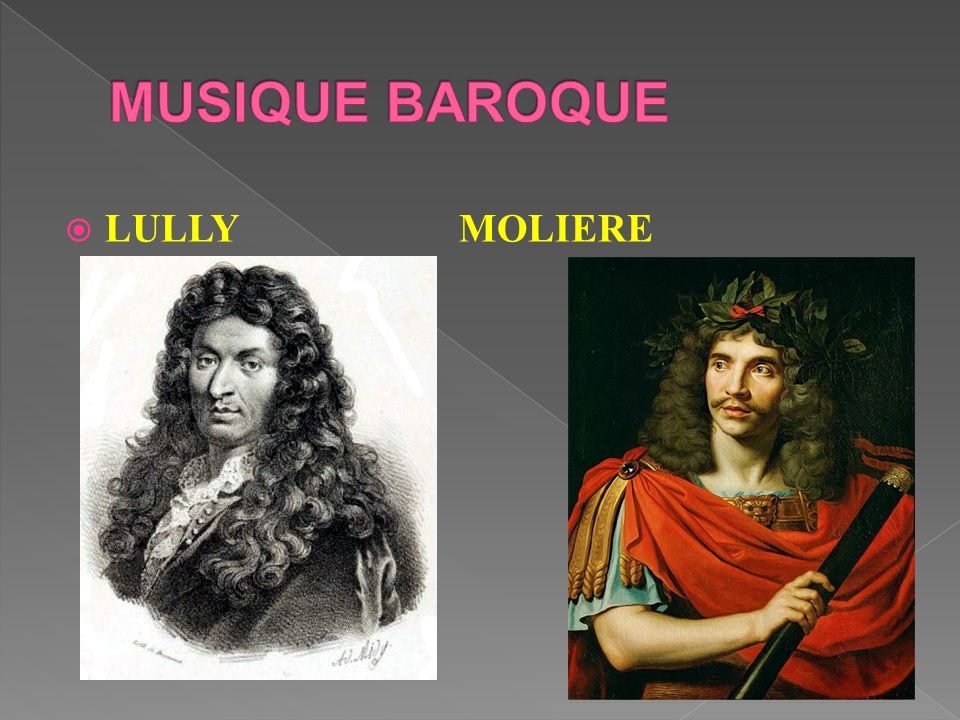 MUSIQUE BAROQUE LULLY MOLIERE