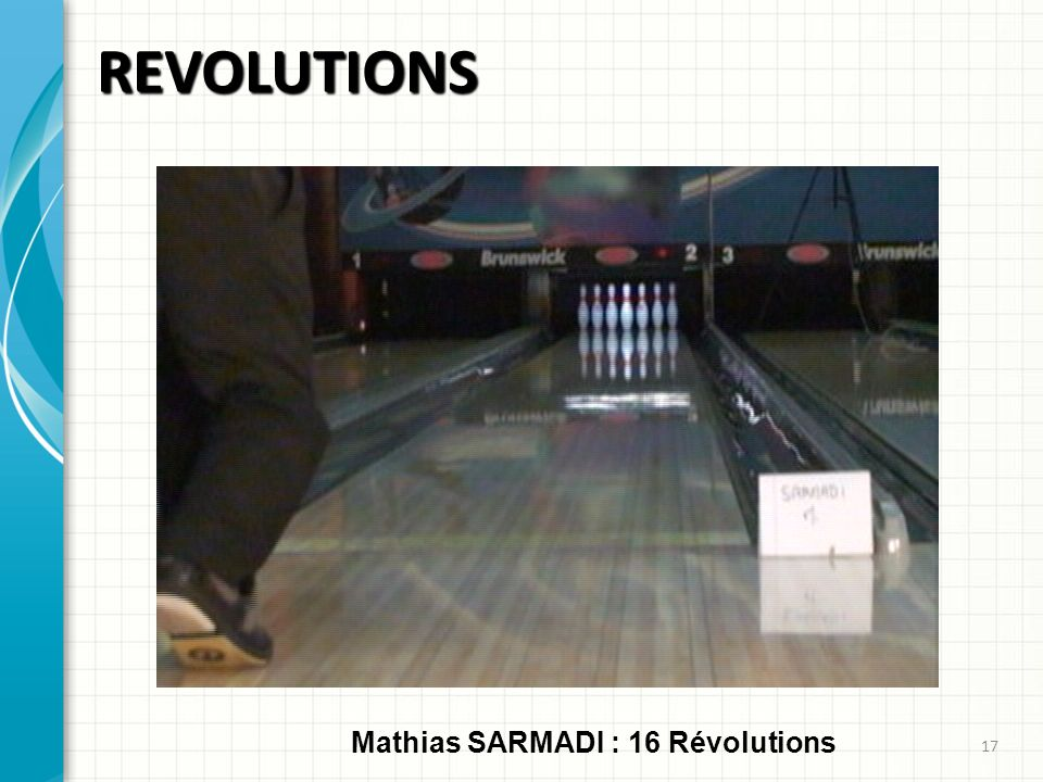 REVOLUTIONS Mathias SARMADI : 16 Révolutions