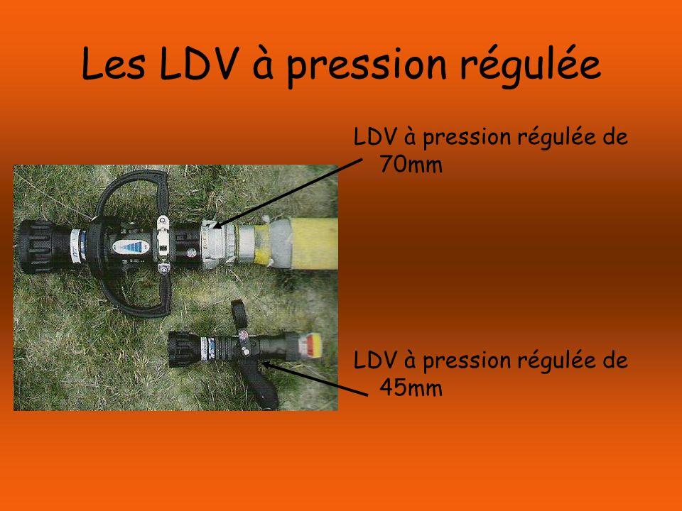 Les LDV à pression régulée