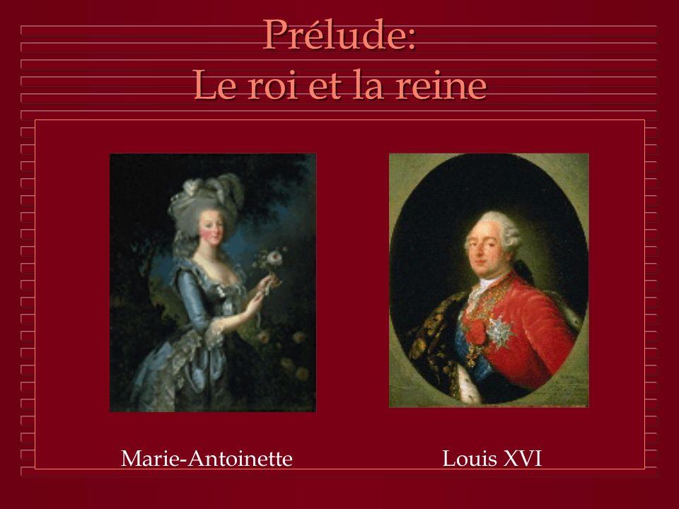 Prélude: Le roi et la reine