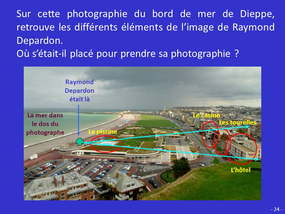 Raymond Depardon était là La mer dans le dos du photographe