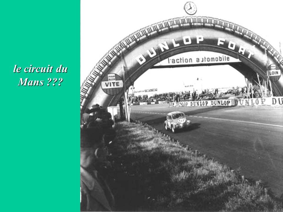 le circuit du Mans