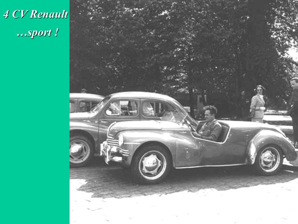 4 CV Renault …sport !