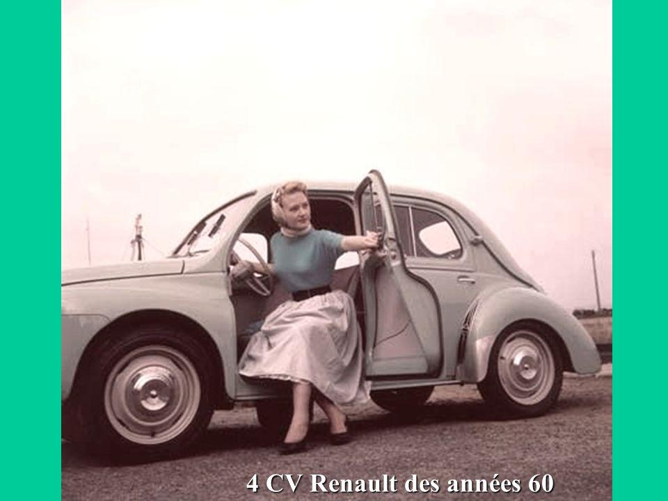 4 CV Renault des années 60