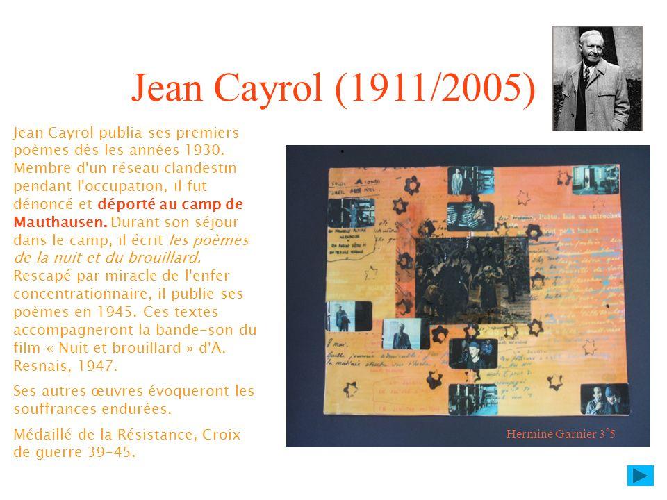 Jean Cayrol (1911/2005)
