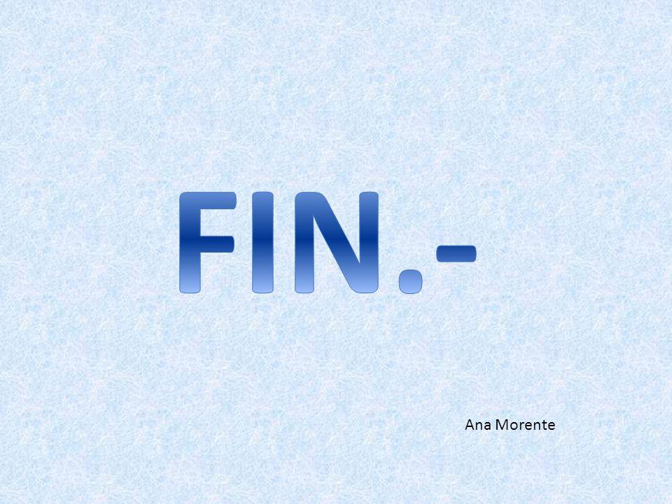 FIN.- Ana Morente