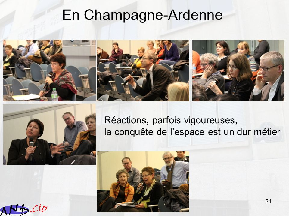 En Champagne-Ardenne Réactions, parfois vigoureuses,