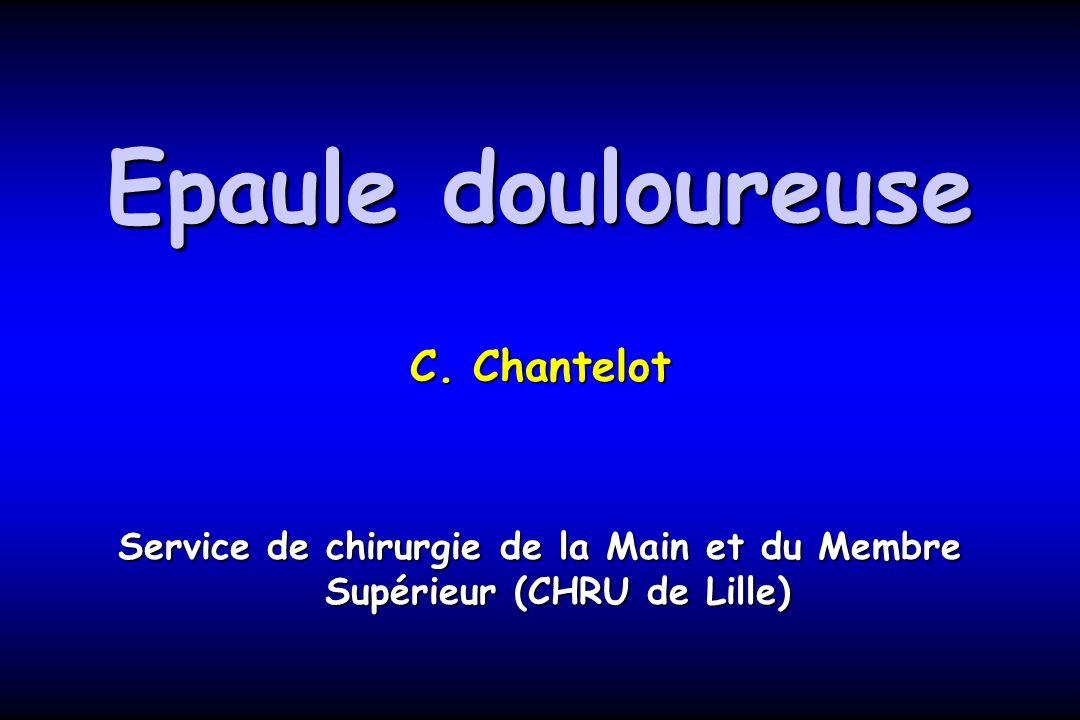 Service de chirurgie de la Main et du Membre Supérieur (CHRU de Lille)