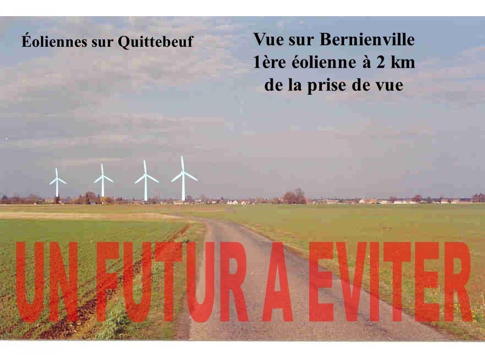Éoliennes sur Quittebeuf