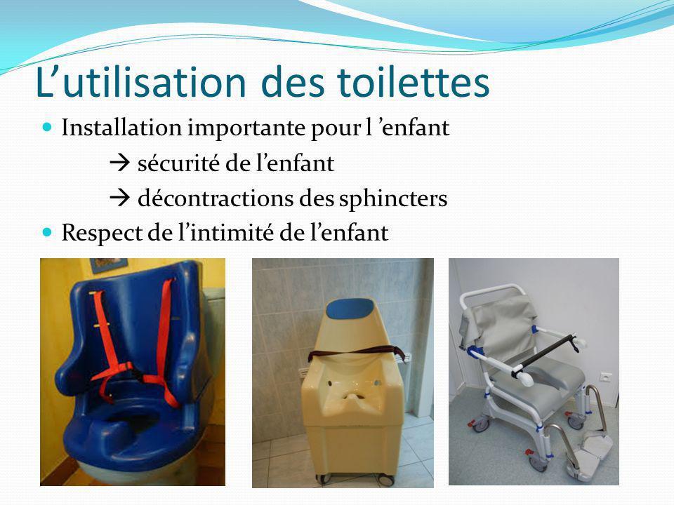 L'utilisation des toilettes