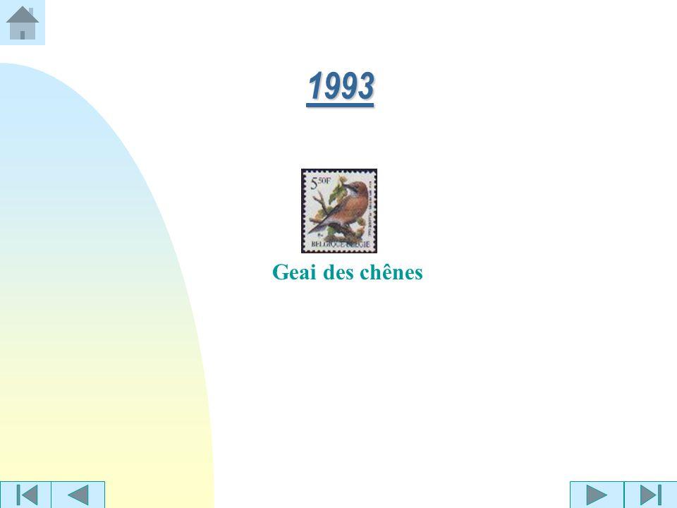 1993 Geai des chênes