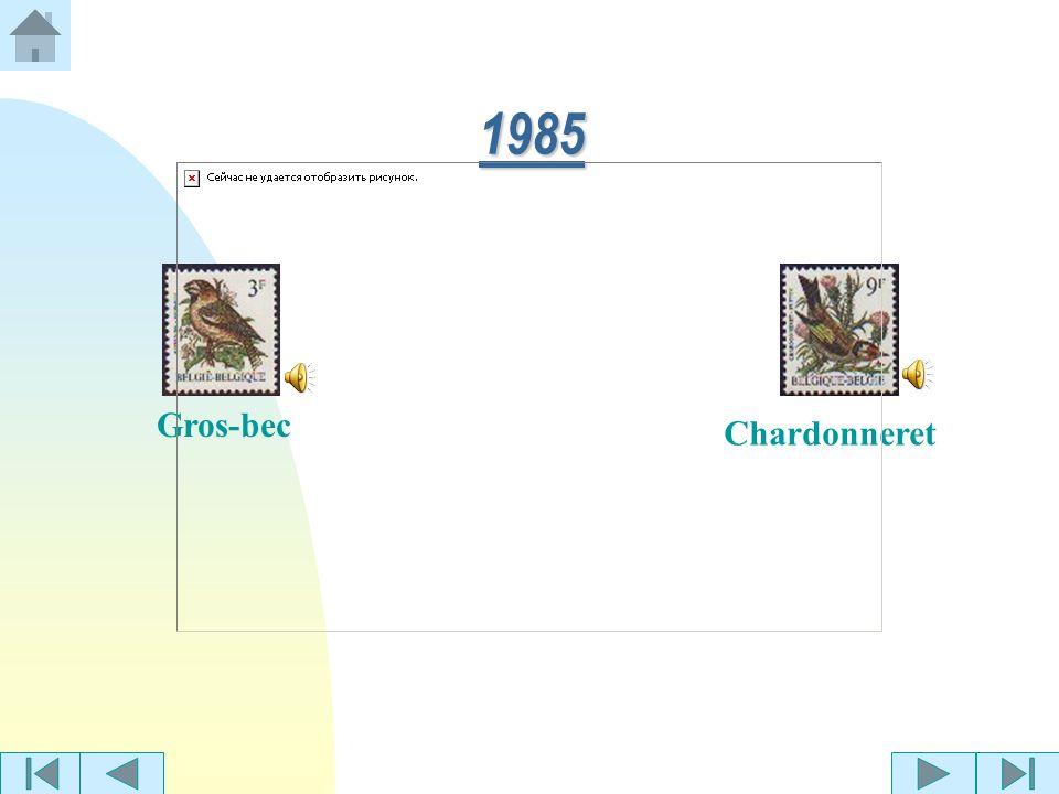 1985 Gros-bec Chardonneret