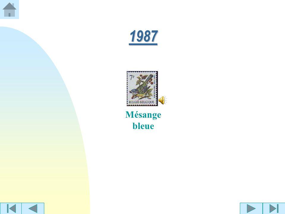 1987 Mésange bleue
